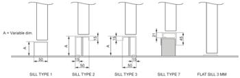G007 - Sill Types