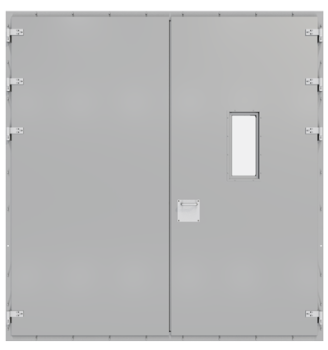 HB 5000 - double steel doors
