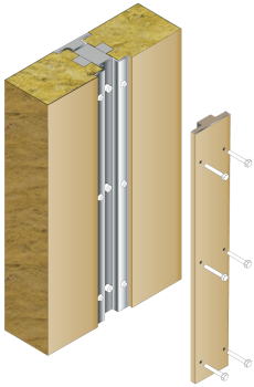H120 Heavy duty wall - exploded diagram