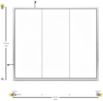 A60/AF70 Internal Butt Joint Partition - illustration