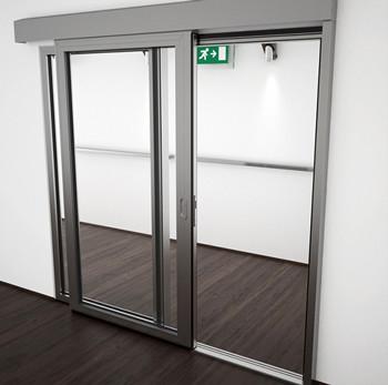 A60/AF75 Internal Single Sliding Door - detail
