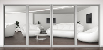 A60/AF85 External Fixed Frame Window/Partition
