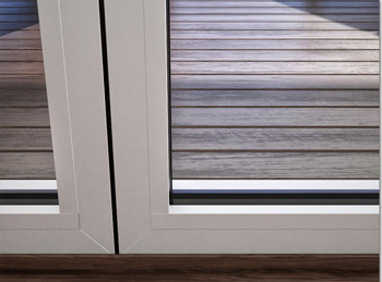 A60/AF85 External Fixed Frame Partition - detail