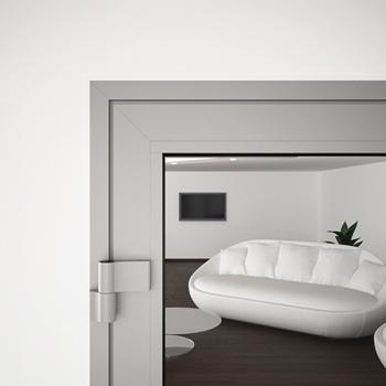A60/AF85 External Single Hinged Door - detail