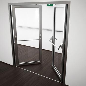 A60/AF85 Internal Double Hinged Door - detail