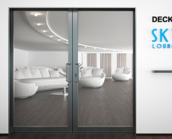 A60/AF85 Internal Double Sliding Door