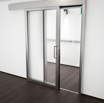 A60/AF85 Internal Single Sliding Door - detail