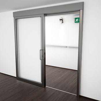 AF85 Internal Single Sliding Door - detail