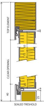 MS/MC Acoustic Type door - detail 3