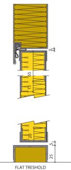 MS/MC Acoustic Type door - detail 4