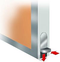 MS/MC Acoustic Type door - sub detail