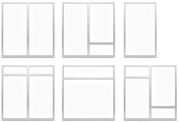 A60/AF70 Internal Fixed Frame Window/Partition - detail options
