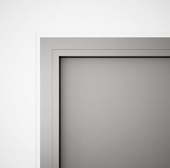 AF85 Internal Fixed Frame Window/Partition - detail
