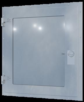 H500 Glazed external escape hatch